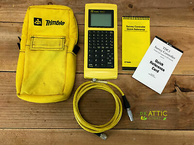 Trimble TDC1 Data Collector P/N: Q1815-CMCHRPE Rev B - w/Case, Cable & Powers On