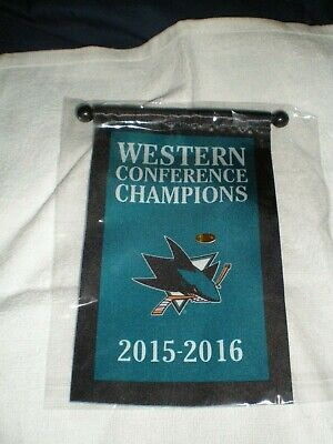#Win9L 2016 SAN JOSE SHARKS WEST CONFERENCE CHAMPIONS CHAMPS PUCK
