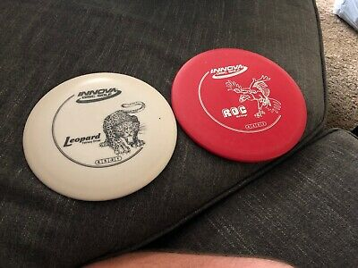 Innova Roc And Leopard Frisbee Disc Golf Lot Of 2