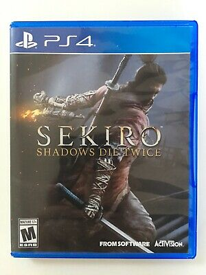 Sekiro Shadows Die Twice - PS4 (great condition!)