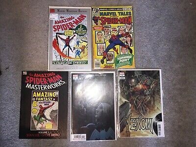 The Amazing Spider-Man Masterworks Vol. # 1 Marvel Comics TPB Venom Lot