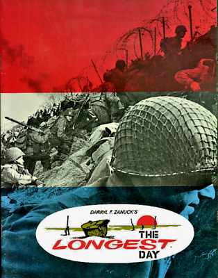 16mm Feature Film: THE LONGEST DAY (1962) Original - 42 INTERNATIONAL STARS!