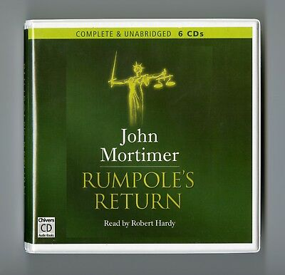Rumpole's Return: by John Mortimer - Unabridged Audiobook - 6CDs