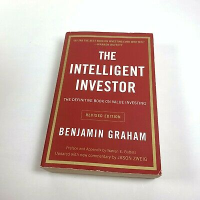 The Intelligent Investor : The Definitive Book on Investing by Benjamin Graham