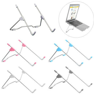 Folding Laptop Stand Dissipate Heat Computers Holder Notebook Cooling Support