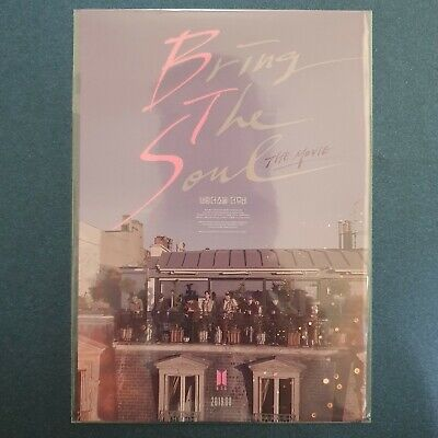 Official Postcard BTS Bring The Soul The Movie Postcard Kpop