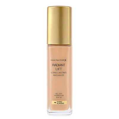 Max Factor - Radiant Lift Foundation WARM ALMOND Long Lasting Radiance Hydrating