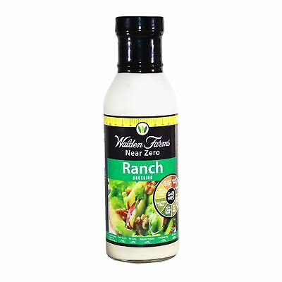 Reduced Walden Farms Ranch Dressing Healthy Diet Low Calories Salad Condiment