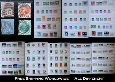 Stamp Collection From The British Colonies United Kingdom & United States
