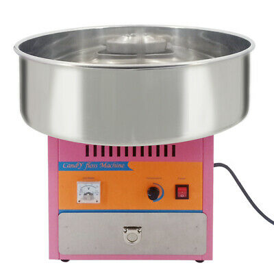 1KW Electric Cotton Candy Machine Commercial Sugar Floss Maker Party UK plug