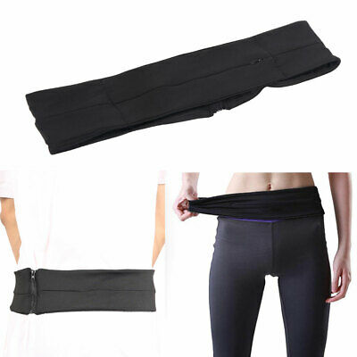 Running Belt Pouch Fitness Walking Sports Waist Pack for Phone Keys Cards Cash H