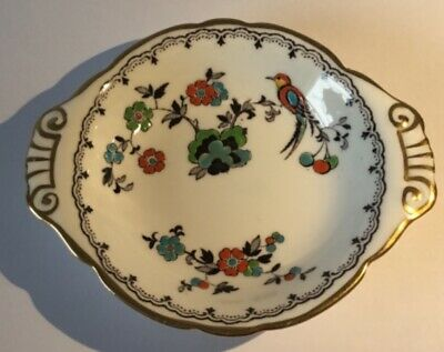 Vintage Tuscan Fine English Bone China, hand painted with birds and flowers