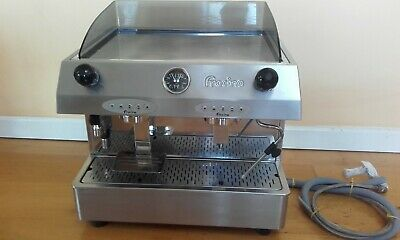 Fracino Classic 2 Grp Espresso Machine, plus grinder, knock out drawer, 3 jugs