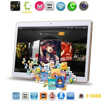 10.1 Inch FHD Game Tablet Computer PC Ten Core Android GPS Wifi Dual Camera 64GB