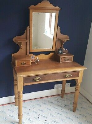Antique Old Pine Dressing Table