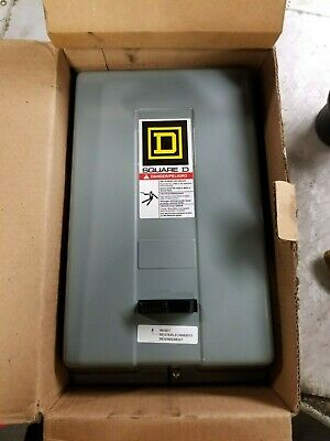 New Square D 9991Sdg8 Enclosure Only For Size 2 Motor Starter Nema 1