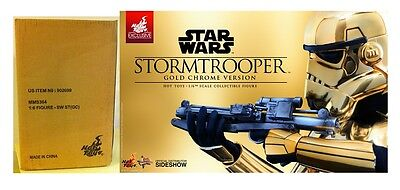 NEW Hot Toys MMS 364 Star Wars Stormtrooper (Gold Chrome Version) Storm Trooper