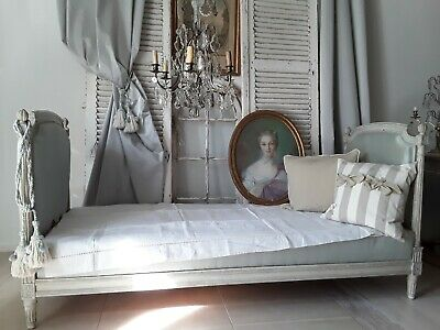 Antikes Bett, Daybed, Louis XVI Frankreich, shabby**french antique daybed**