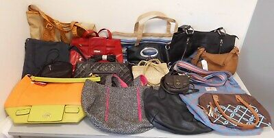 Job Lot Wholesale Mixed Womens Hand Bags RESELL CARBOOT BAG TRADER x16 Box 1