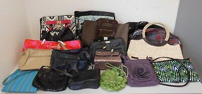 Job Lot Wholesale Mixed Womens Hand Bags RESELL CARBOOT BAG TRADER x18 Box 2