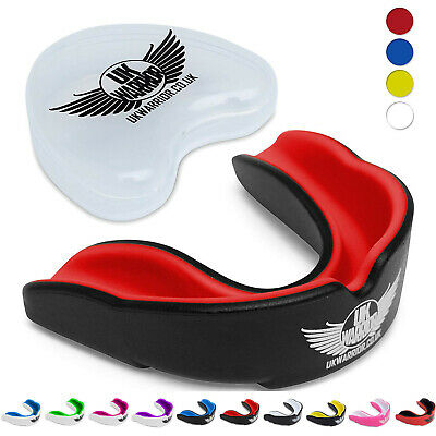 Gum Shield Mouth Guard Mouthguard Boxing Teeth Protection MMA Rugby
