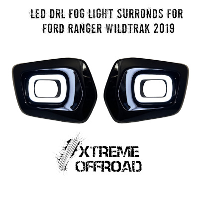 Front LED DRL Surronds with Indicator for Ford Ranger T6 MK3 Wildtrak 2019+