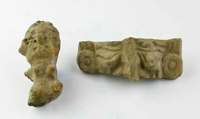 *Sc*Interesting Pair Of Pre-Columbian Mexico Pottery Fragments!