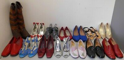 Job Lot Wholesale Mixed Womens Lucky Dip Shoes RESELL CARBOOT TRADER X14 Box1