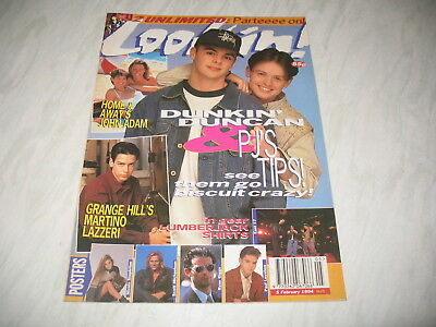 Look-In magazine Junior TV Times 1994 5 February No. 5 Scott Michaelson poster