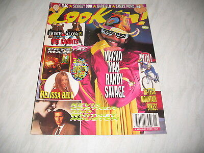 Look-In magazine Junior TV Times 1993 9 January No. 1 complete Home Alone 2