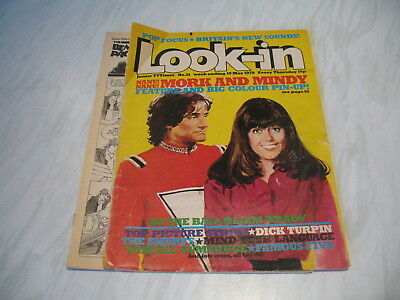 Look-In magazine Junior TV Times No. 21 1979 19 May complete Robin Williams