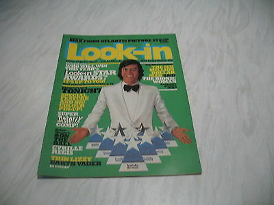 Look-In magazine Junior TV Times No. 13 1978 25 March complete Tonight poster