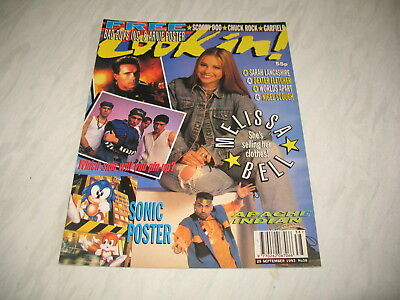 Look-In magazine Junior TV Times 1993 25 September No. 38 Sonic the Hedgehog 2