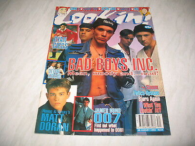 Look-In magazine Junior TV Times 1993 28 August No. 34 complete Bad Boys Inc