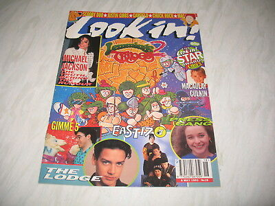Look-In magazine Junior TV Times 1993 8 May No. 18 complete Lemmings 2 Tribes