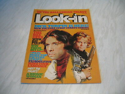 Look-In magazine Junior TV Times No. 14 1979 31 March complete Bee Gees poster
