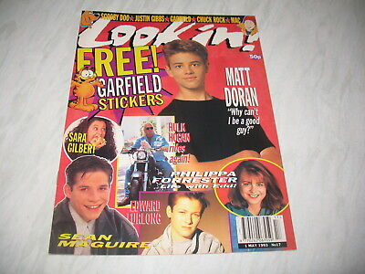 Look-In magazine Junior TV Times 1993 1 May No. 17 complete Edward Furlong