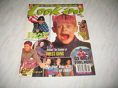 Look-In magazine Junior TV Times 1993 15 May No. 19 complete Mark Owen poster