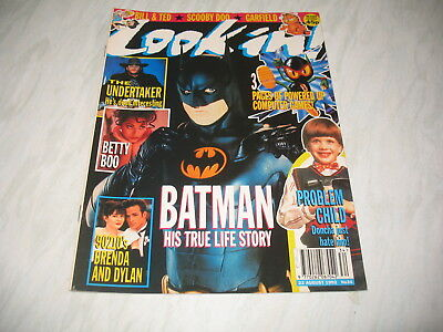 Look-In magazine Junior TV Times 1992 22 August No. 34 complete The Undertaker