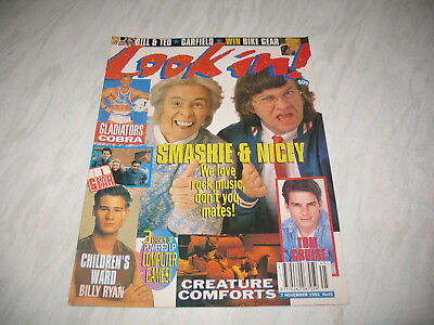 Look-In magazine Junior TV Times 1992 7 November No. 45 complete Carol the Cat