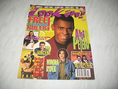 Look-In magazine Junior TV Times 1993 10 April No. 14 complete Andi Peters