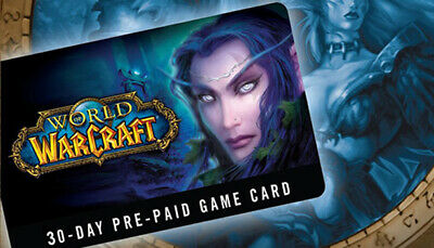 World of Warcraft - Game Time 30 day US