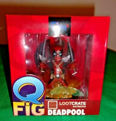 Q FiG Deadpool, Action Figure(Marvel), LOOTCRATE Exclusive - New In Box!!!