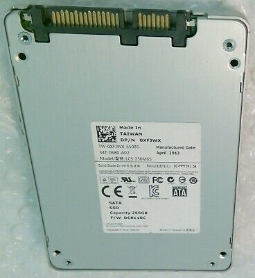 """256GB LITE-ON LCS-256M6S DELL XFJWX 7mm 2.5"""" solid state drive SSD"""