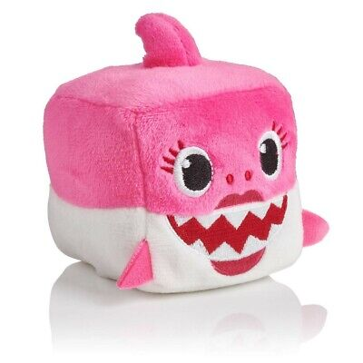 Baby Shark 100% Official Singing Cube Plush - Mummy Shark - BRAND NEW!!