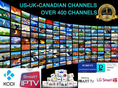 IPTV Subscription PREMIUM 12 Months with VOD - Smart TV, Firestick, Android