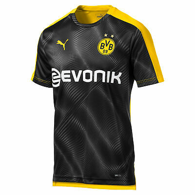 Puma Official Mens BVB Borussia Dortmund Stadium Football Jersey Shirt Yellow