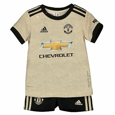 adidas Official Kids Manchester United FC Away Baby Football Kit 2019-20