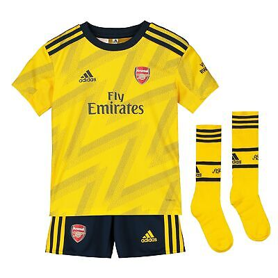 adidas Official Kids Arsenal FC Away Mini Football Kit 2019-20