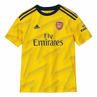 adidas Official Kids Arsenal FC Away Football Shirt Jersey Top 2019-20